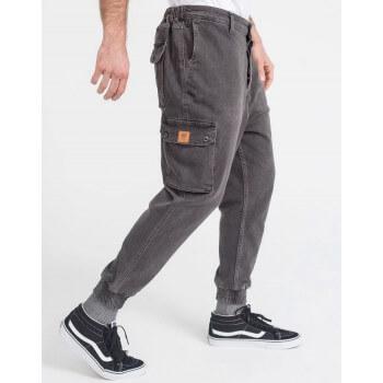 Saroual Coupe Pantalon Jeans Cargo Gris - DC Jeans