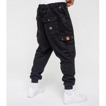 Saroual Coupe Pantalon Jeans Cargo Black - DC Jeans
