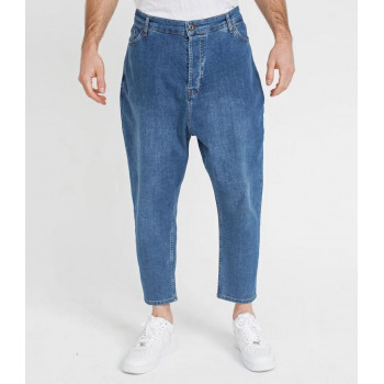 Saroual Coupe Pantalon Jeans Blue Light Basic Straight - DC Jeans