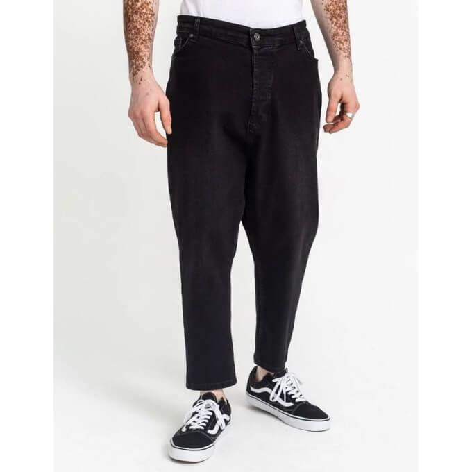 Saroual Coupe Pantalon Jeans Black Basic Straight  - DC Jeans