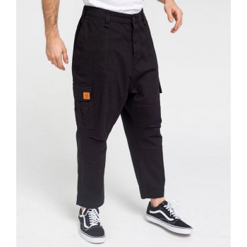 Saroual Coupe Pantalon Cargo Basic Straight Black Ripstop - DC Jeans