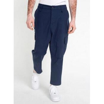 Saroual Coupe Pantalon Cargo Basic Straight Navy Ripstop - DC Jeans