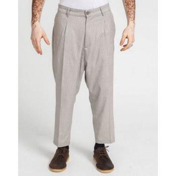 Saroual Coupe Pantalon Pince Wool Beige Chiné - DC Jeans