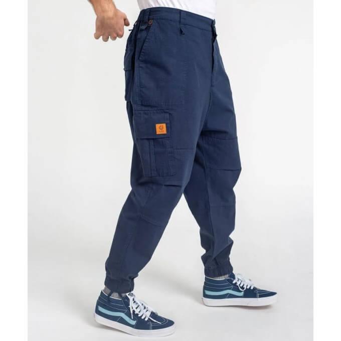 Saroual Coupe Pantalon Cargo Basic Navy Ripstop - DC Jeans