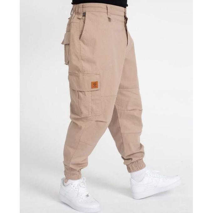 Saroual Coupe Pantalon Cargo Basic Beige Ripstop - DC Jeans