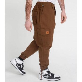 Saroual Coupe Pantalon Cargo Basic Marron Ripstop - DC Jeans
