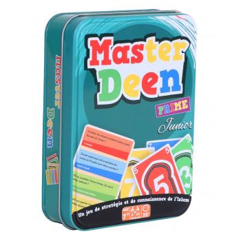 Master Deen Prime Junior - Boite Métallique - Jeu de Cartes à Partir de 7 Ans - Osratourna