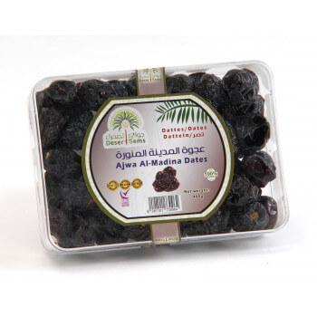 Dattes Al 'Ajwa Al-Madinah 400 g - Petit Calibrage - Palmeraie de Medine - Arabie Saoudite - Desert Gems