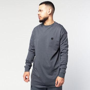 Tshirt Oversize Straight Grey - Manche Longue - DC Jeans