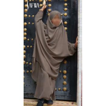 Jilbab Enfant - Taupe - Safwa