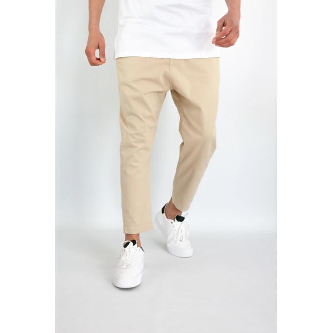 Pantalon Homme 7/8ème - Saroual D1 RAM Crême - Coupe Djazairi - Timssan