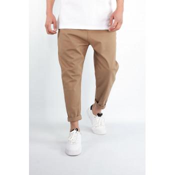 Pantalon Homme 7/8ème - Saroual D1 RAM Camel - Coupe Djazairi - Timssan