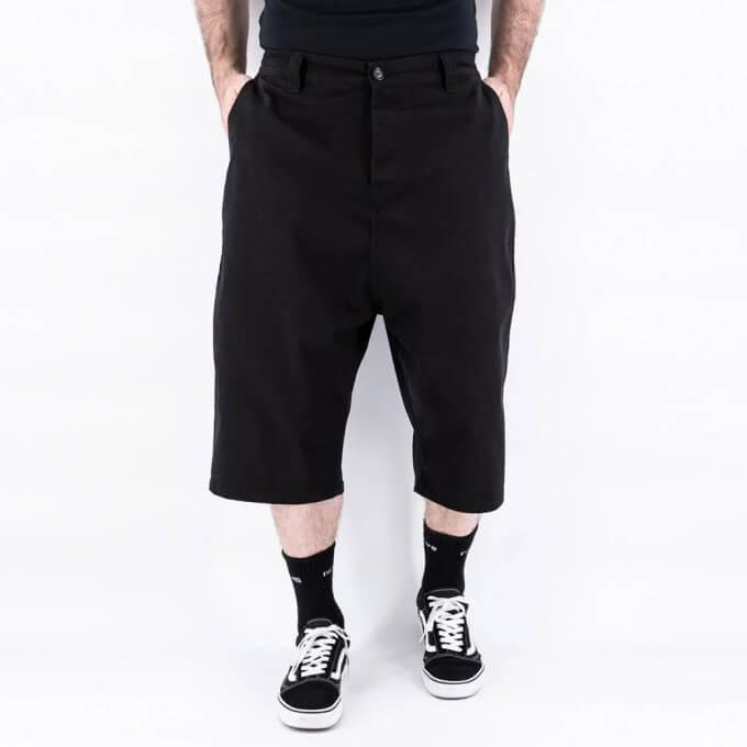 Saroual Short Chino - Bermuda Basic Noir - DC Jeans - New 2021