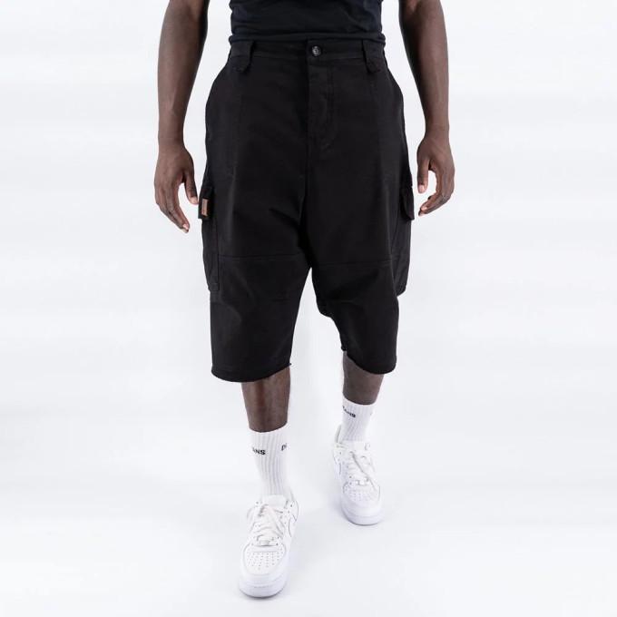 Saroual Short Cargo - Bermuda Basic Noir - DC Jeans - New 2021