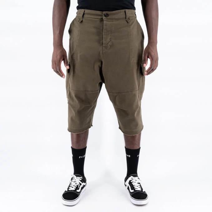 Saroual Short Cargo - Bermuda Basic Kaki - DC Jeans - New 2021
