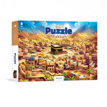 Big Makkah - Puzzle 104 Pces - 60 x 42 cm - Educatfal