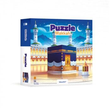 Puzzle Makkah56 Pces - 35 x 35 cm - Educatfal + 3ans