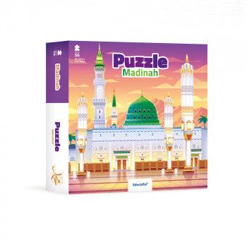 Puzzle Al Madinah 56 Pces - 35 x 35 cm - Educatfal + 3ans