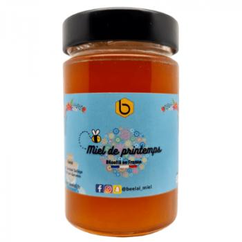 Miel de Printemps - Miel 100% Naturel de France - 250 gr - Beelal