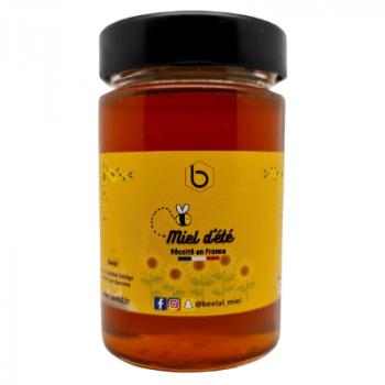 Miel d'Été - Miel 100% Naturel de France - 250 gr - Beelal