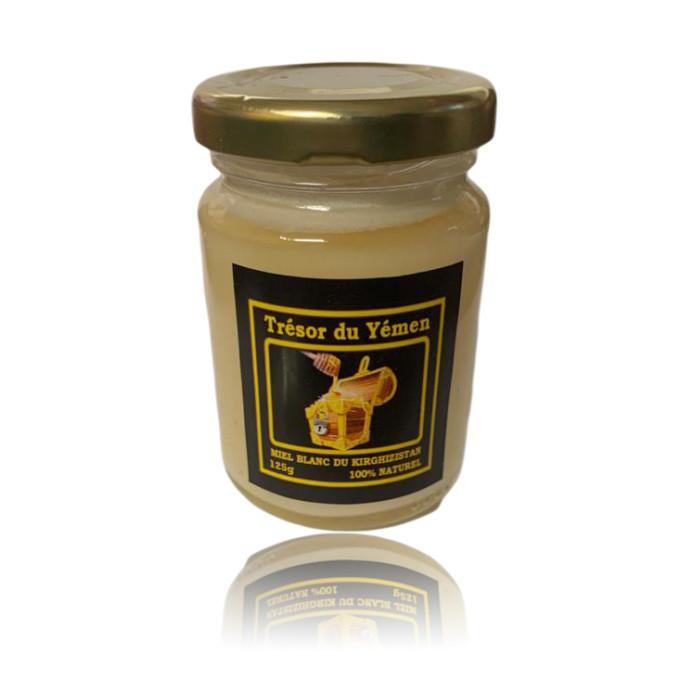 Miel Blanc de Kirghizistan - Trésor du Yémen - 125g