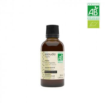 Huile de Nigelle BIO - Habba Saouda - 1ère Pressée à Froid - 50 ml - Saouda