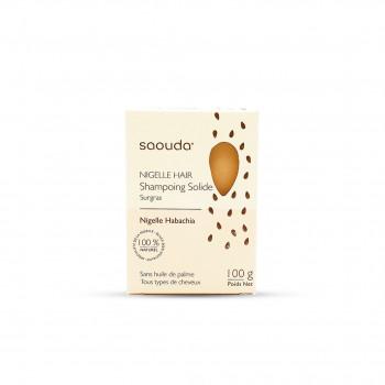 Shampoing Solide à la Nigelle - Huile de Nigelle Habachia - 100 gr - Saouda