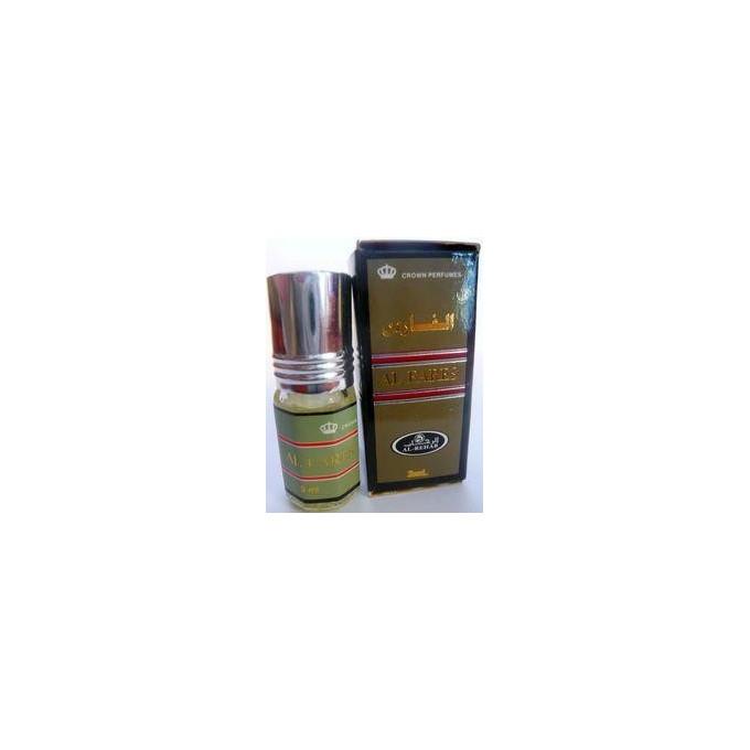 Al Fares - Musc Sans Alcool - Concentré de Parfums Bille 3ml - Al Rehab