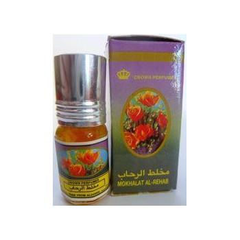 Mokhalat - Musc Sans Alcool - Concentré de Parfums Bille 3ml - Al Rehab