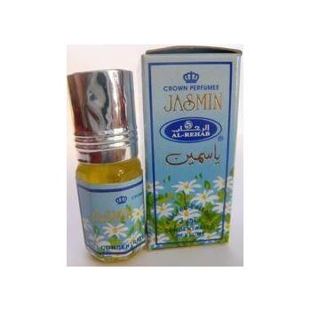 Jasmin - Musc Sans Alcool - Concentré de Parfums Bille 3ml - Al Rehab