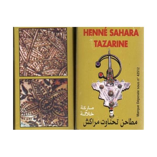 henn henna sahara tazarine pour le tatouage des mains et des pieds al hidayah. Black Bedroom Furniture Sets. Home Design Ideas