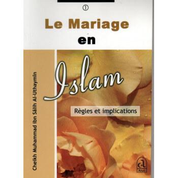 Le Mariage En Islam - Edition Anas