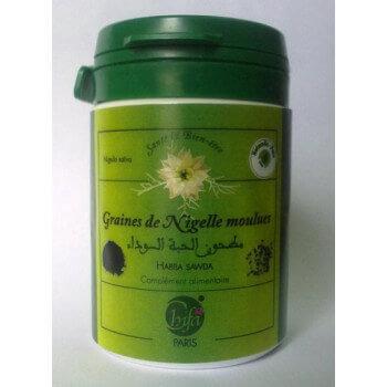 La Poudre de Graine de Nigelle Moulues - 100% Naturelle - Pot 35 gr - Habba Sawda - Black Seed - Chifa - 831