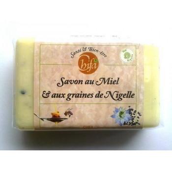 Savon Chifa - Miel et aux Graines de Nigelle - 100 gr - 1306