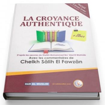 La Croyance Authentique AT Tawhid en 8 livres - Cheikh Fawzan - Edition Dar Al Muslim