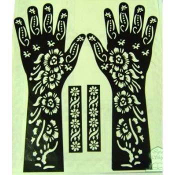 Motifs pour Tatouage au Henné (Pied + Corps)