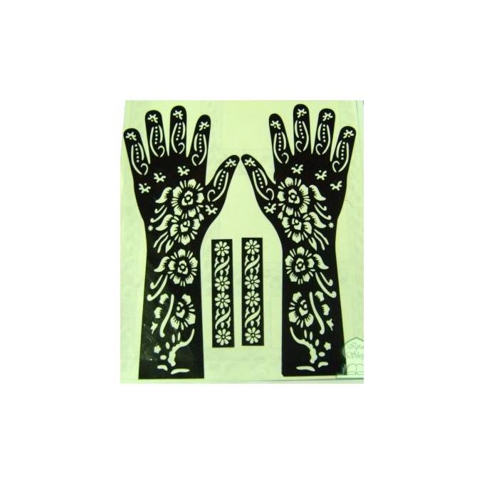 motifs pour tatouage au henn pied corps al hidayah. Black Bedroom Furniture Sets. Home Design Ideas