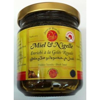 Miel à La Nigelle et à la Gelée Royale - Chifa 250 gr