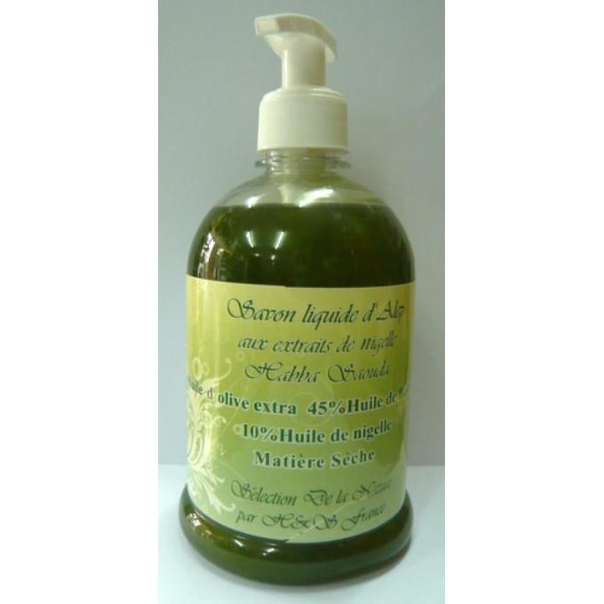 Savon Liquide d'Alep aux Extraits de Nigelle - 500 ml