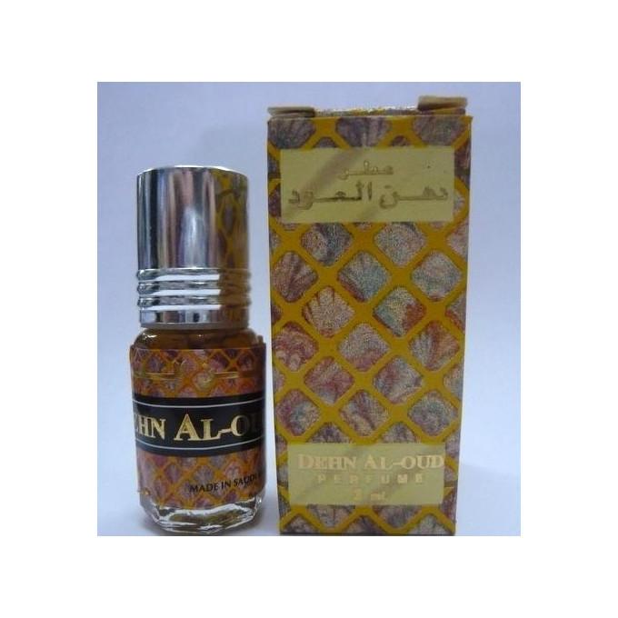 Dehn Al Oud - Musc Sans Alcool - Concentré de Parfums Bille 3ml - Al Rehab