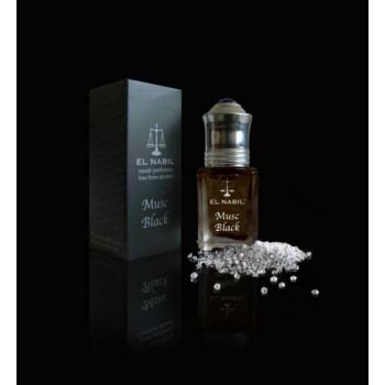 El Nabil - Musc Black 5ml - Saudi Perfumes - Sans Alcool