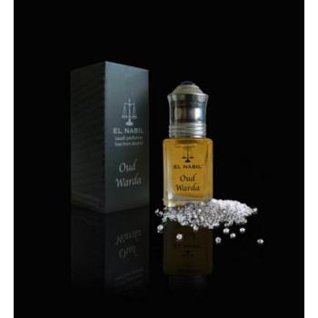 Oud Warda 5 ml - Saudi Perfumes -Sans Alcool - El Nabil
