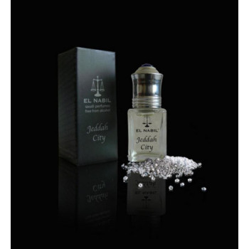 Jeddah City 5ml - Saudi Perfumes - Sans Alcool - El Nabil