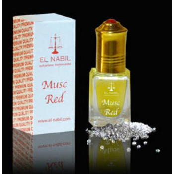 MUSC RED 5 ml - Saudi Perfumes - Sans Alcool - El Nabil