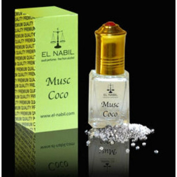 MUSC COCO 5 ml - Saudi Perfumes - Sans Alcool - El Nabil
