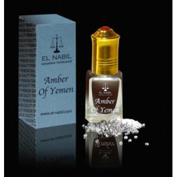El Nabil - AMBER OF YEMEN 5 ml - Saudi Perfumes - Sans Alcool