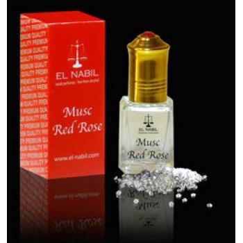 MUSC RED ROSE 5 ml - Saudi Perfumes - Sans Alcool - El Nabil