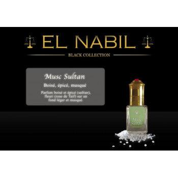 Musc Sultan 5 ml - Saudi Perfumes - Sans Alcool - El Nabil