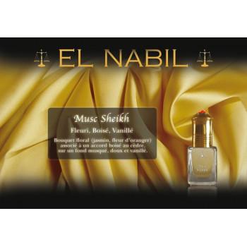 Musc Sheikh 5 ml - Saudi Perfumes - Sans Alcool - El Nabil