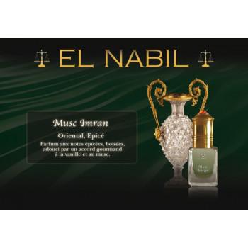 Musc Imran 5 ml - Saudi Perfumes - Sans Alcool - El Nabil